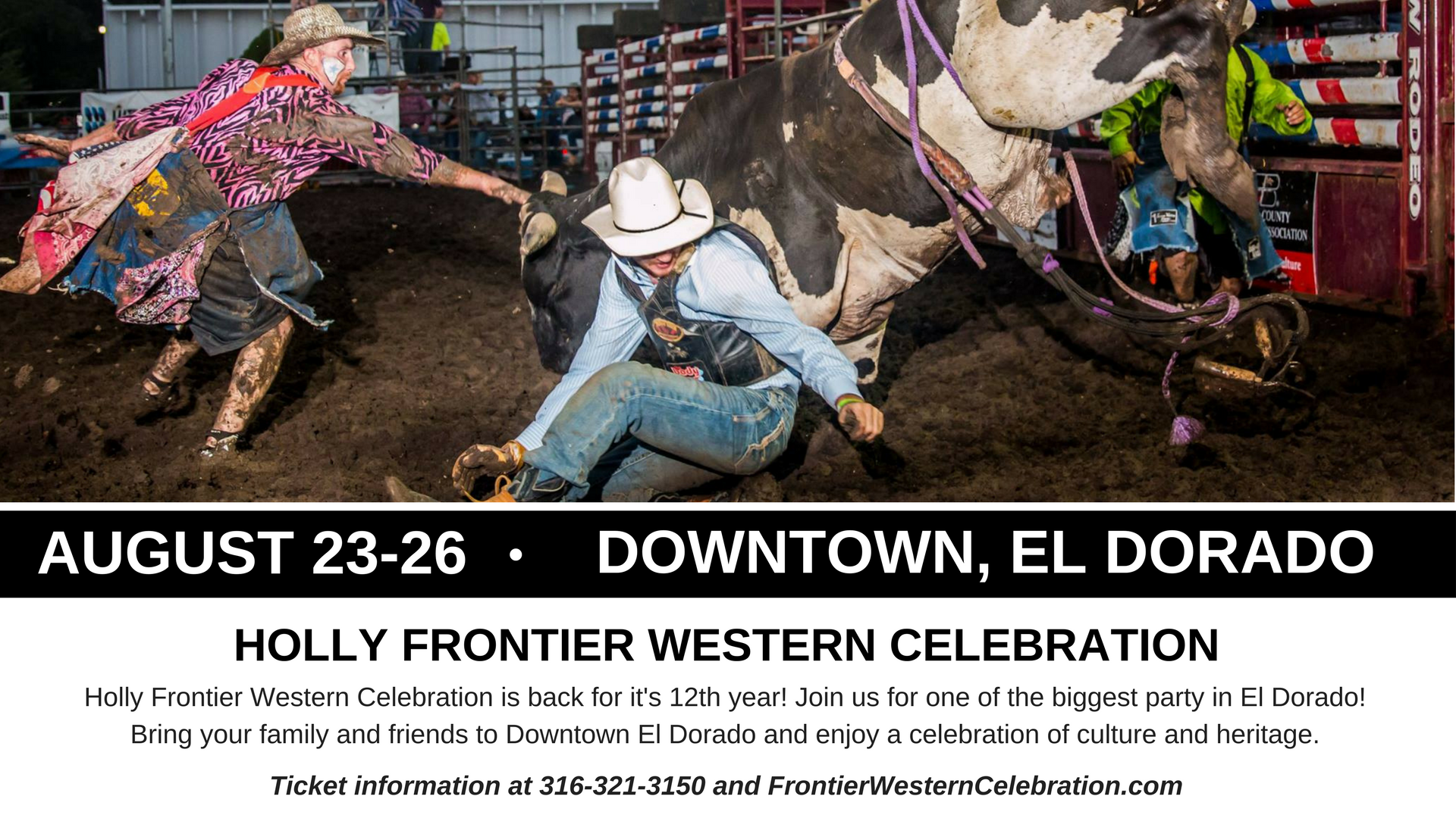 Holly Frontier Western Celebration Ticket Info 2018