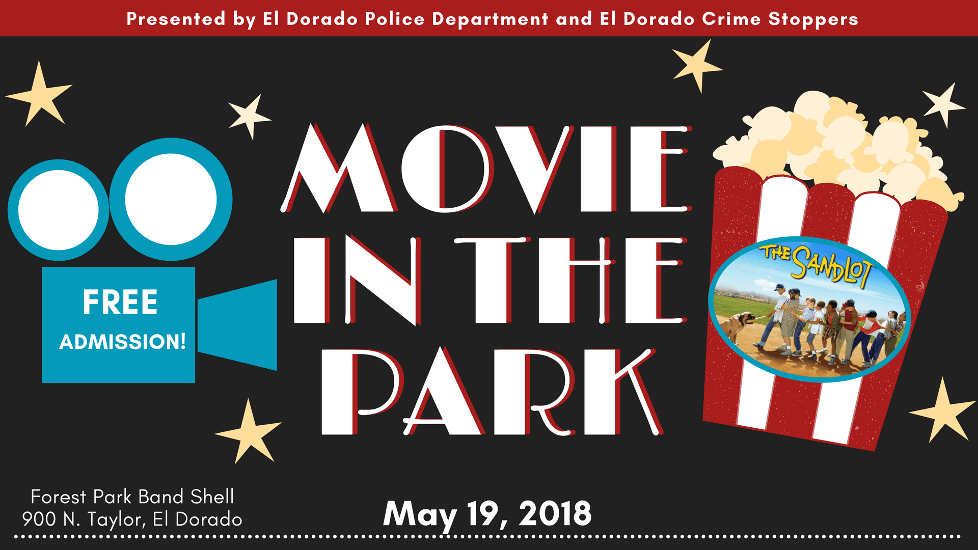 Movie in the Park website