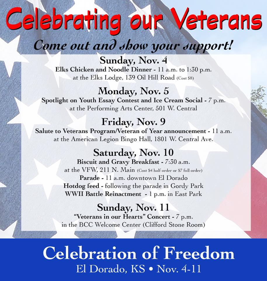 celebration of freedom schedule 2018