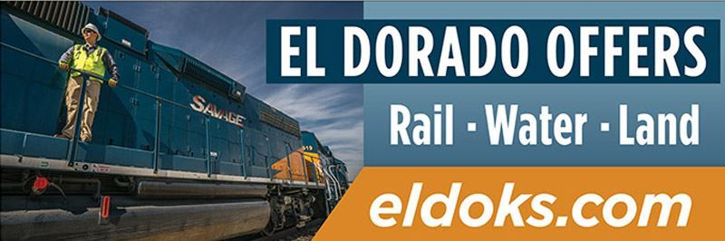 El Dorado Offers Rail. Water, Land