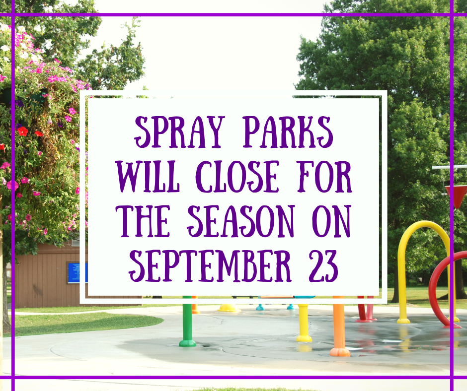 Spray Parks Closing