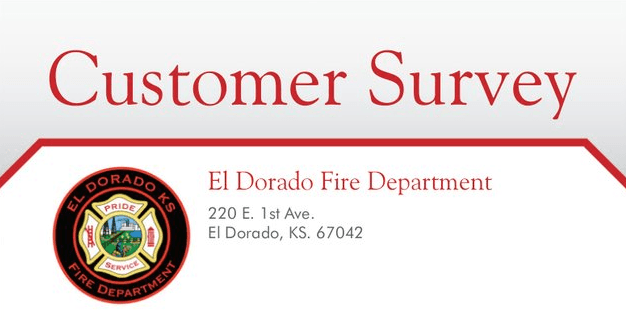 Fire Department Customer Survey