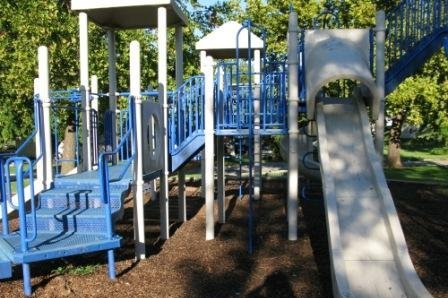 Playground at Bradford Memorial Library
